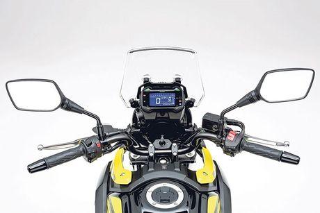 Xe moto Suzuki V-Strom 250 'chot gia' 136 trieu dong - Anh 5