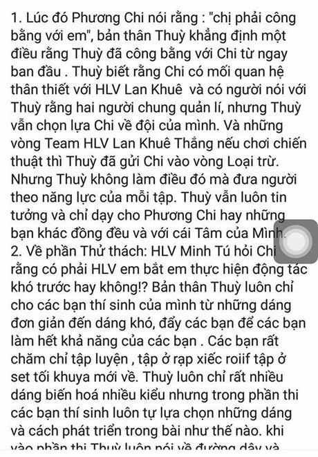 Hoang Thuy gay buc xuc voi dong status moi nhat vi 'loi Lan Khue vao' de noi chuyen cua Phuong Chi - Anh 1