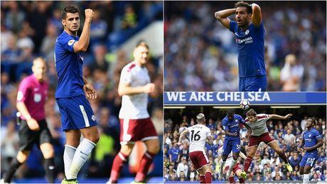 Cham diem Chelsea 2-3 Burnley: 'Nguoi hung' Morata ngam dang nuot cay - Anh 1