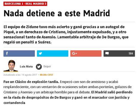 Real thang dam: Zidane benh vuc Ronaldo, bao chi 'mang xoi xa' Barca - Anh 1
