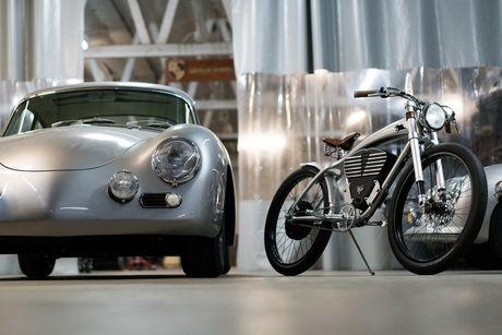 Xe dap dien phong cach Porsche gia 150 trieu dong - Anh 2