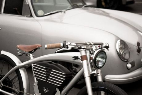 Xe dap dien phong cach Porsche gia 150 trieu dong - Anh 5