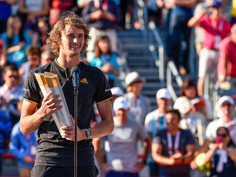 Zverev bat ngo danh bai Federer de dang quang Rogers Cup - Anh 1
