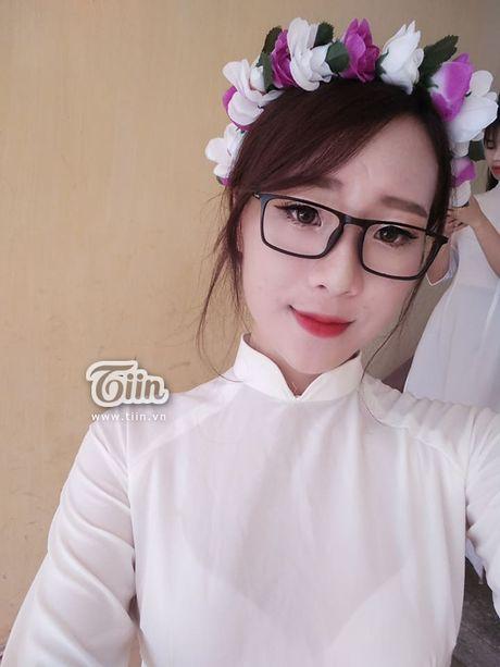 Chua can nhap hoc, tan sinh vien DH Van hoa HN da gay sot vi thi Miss Teen 2017 - Anh 12