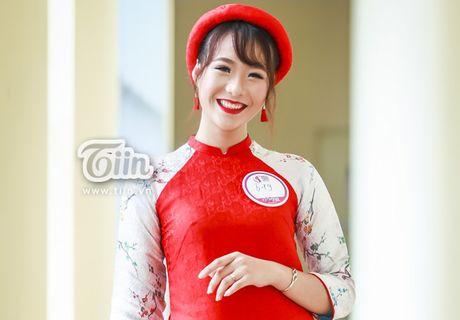 Chua can nhap hoc, tan sinh vien DH Van hoa HN da gay sot vi thi Miss Teen 2017 - Anh 1