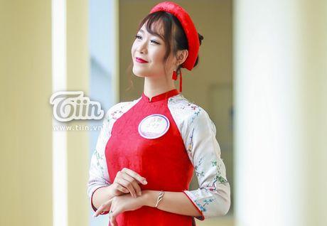 Chua can nhap hoc, tan sinh vien DH Van hoa HN da gay sot vi thi Miss Teen 2017 - Anh 2