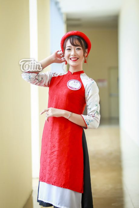 Chua can nhap hoc, tan sinh vien DH Van hoa HN da gay sot vi thi Miss Teen 2017 - Anh 4