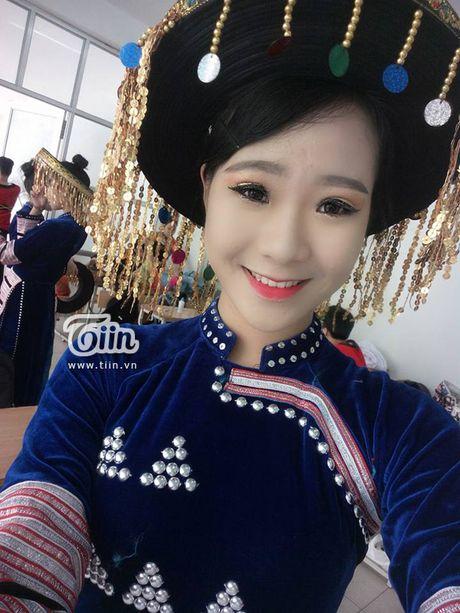 Chua can nhap hoc, tan sinh vien DH Van hoa HN da gay sot vi thi Miss Teen 2017 - Anh 9