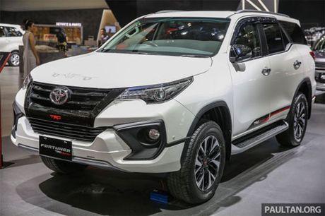Diem hap dan nguoi dung cua Toyota Fortuner TRD Sportivo 2017 gia tu 897 trieu dong - Anh 1