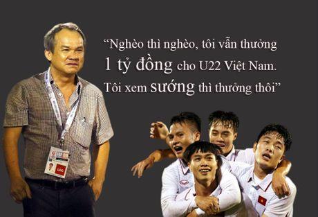 Bau Duc sang Malaysia xem U22 Viet Nam dau Thai Lan, san sang thuong 'nong' - Anh 1
