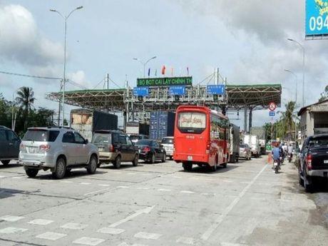 Bo GTVT: Tram Cai Lay duoc phep thu phi! - Anh 1