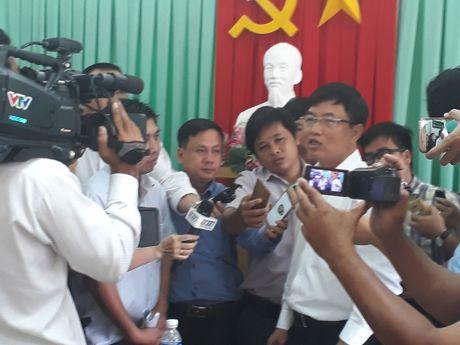 Kien nghi giam phi tai Du an Cai Lay cho nguoi dan 4 xa - Anh 1