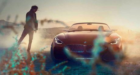 Ro ri hinh anh cua BMW Z4 Concept truoc ngay ra mat - Anh 10