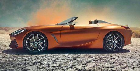 Ro ri hinh anh cua BMW Z4 Concept truoc ngay ra mat - Anh 1