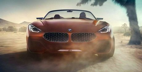 Ro ri hinh anh cua BMW Z4 Concept truoc ngay ra mat - Anh 2