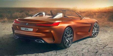 Ro ri hinh anh cua BMW Z4 Concept truoc ngay ra mat - Anh 3