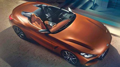 Ro ri hinh anh cua BMW Z4 Concept truoc ngay ra mat - Anh 4