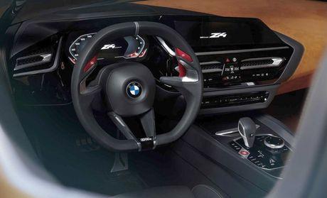 Ro ri hinh anh cua BMW Z4 Concept truoc ngay ra mat - Anh 8