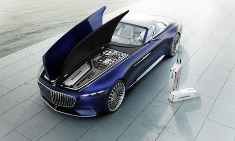 Maybach 6 Cabriolet concept - xe mui tran hang sang moi cua Mercedes - Anh 2