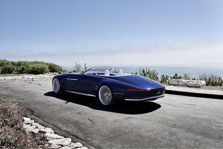 Maybach 6 Cabriolet concept - xe mui tran hang sang moi cua Mercedes - Anh 3