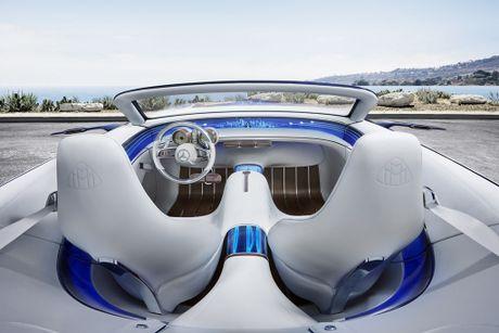 Maybach 6 Cabriolet concept - xe mui tran hang sang moi cua Mercedes - Anh 4
