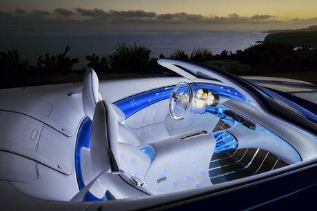 Maybach 6 Cabriolet concept - xe mui tran hang sang moi cua Mercedes - Anh 5