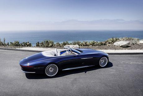 Maybach 6 Cabriolet concept - xe mui tran hang sang moi cua Mercedes - Anh 6