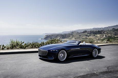 Maybach 6 Cabriolet concept - xe mui tran hang sang moi cua Mercedes - Anh 7