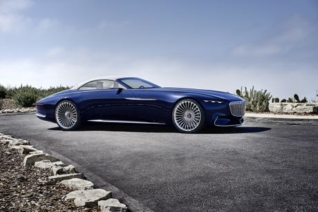 Maybach 6 Cabriolet concept - xe mui tran hang sang moi cua Mercedes - Anh 8