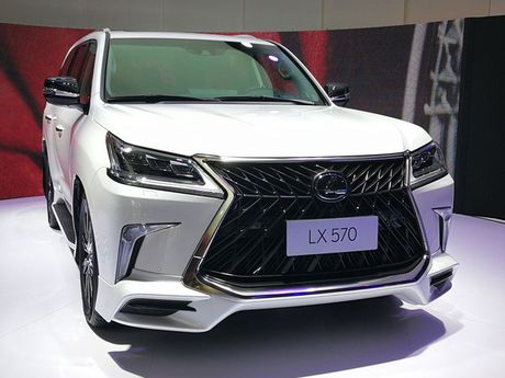 Lexus ban tai Trung Quoc 150 chiec LX570 Superior gia chat - Anh 6