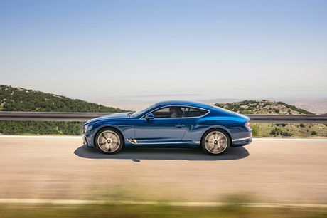 Bentley trinh lang Continetal GT 2018 moi - Anh 8