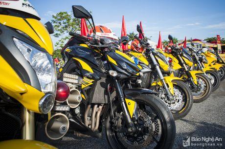 Goldwing 4 banh doc nhat Viet Nam xuat hien tai Nghe An - Anh 2