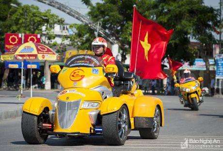 Goldwing 4 banh doc nhat Viet Nam xuat hien tai Nghe An - Anh 4