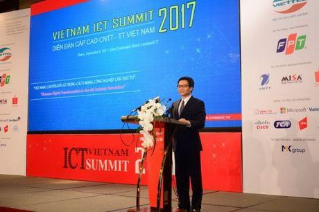 Khai mac Vietnam ICT Summit 2017 - Anh 1