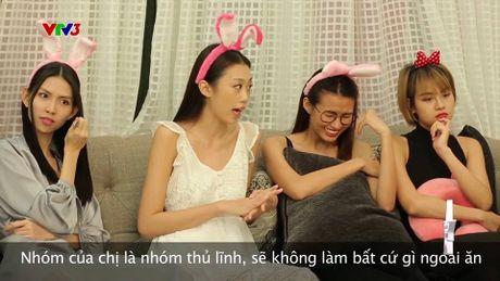 "Hot: Quay lung voi The Face, Ho Ngoc Ha lai ""chay boc lua"" tai chung ket VNTM All stars - Anh 5"