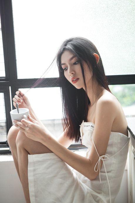 "Hot: Quay lung voi The Face, Ho Ngoc Ha lai ""chay boc lua"" tai chung ket VNTM All stars - Anh 6"