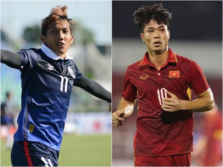 'Messi Viet Nam' Cong Phuong mat diem hoan toan truoc 'Messi Campuchia' - Anh 1