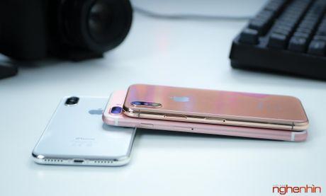 Tren tay iPhone 2017 mo hinh tai Viet Nam: gon hon iPhone 7 Plus - Anh 11