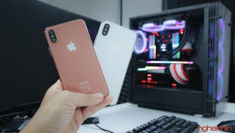 Tren tay iPhone 2017 mo hinh tai Viet Nam: gon hon iPhone 7 Plus - Anh 5