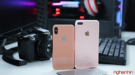 Tren tay iPhone 2017 mo hinh tai Viet Nam: gon hon iPhone 7 Plus - Anh 9