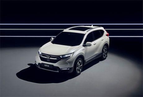 Honda CR-V sap co phien ban hybrid - Anh 1