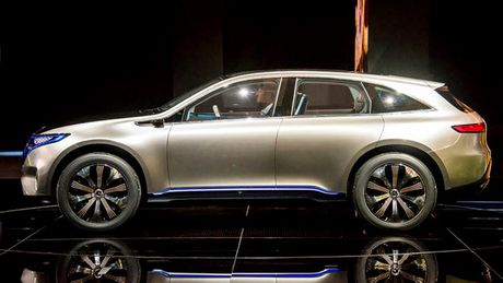 Mercedes ra mat hatchback chay dien EQ A Concept - Anh 1