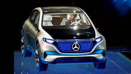Mercedes ra mat hatchback chay dien EQ A Concept - Anh 2