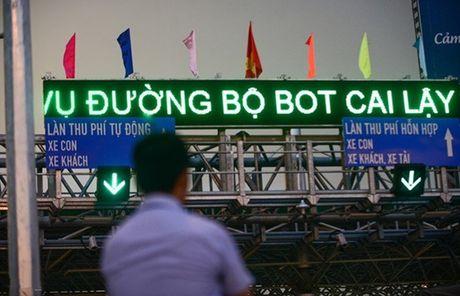 Thanh tra Chinh phu cong bo 5 khuyet diem, vi pham cua du an BOT - Anh 1