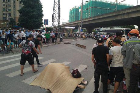 Thuong tam co gai tre bi xe bon can tu vong o nga tu Keangnam - Anh 1
