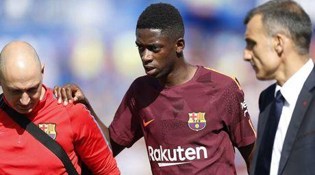 Barcelona co the se mat Dembele trong 4 tuan - Anh 1