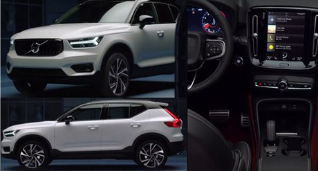 Volvo tinh co tiet lo XC40 2018 - Anh 1