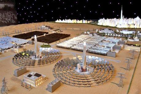 UAE thuc day du an dien Mat troi - Anh 1