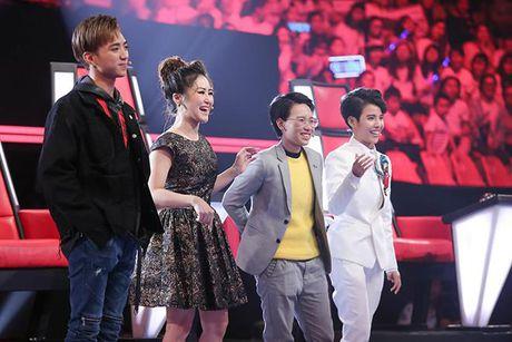 Giong hat Viet nhi 2017: Soobin Hoang Son 'noi da ga', Cat Tuong khoc nuc no tren ghe nong - Anh 2