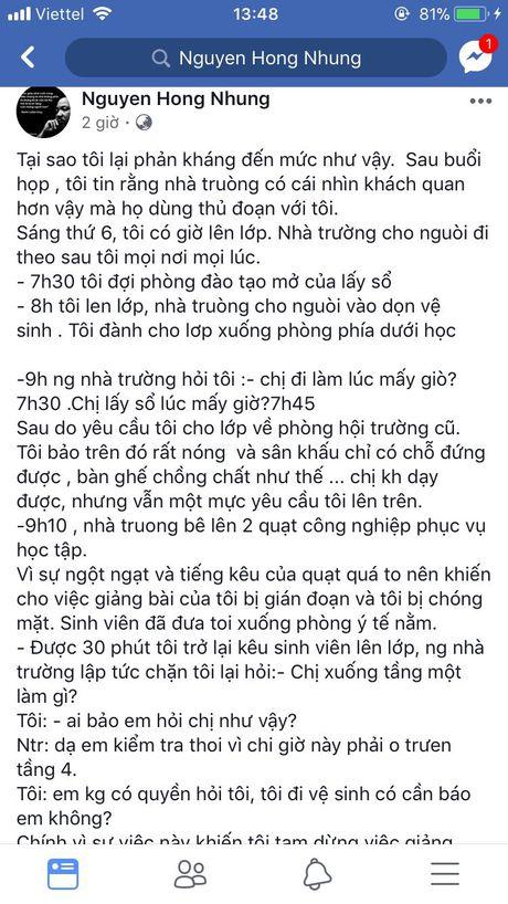 Vo Xuan Bac tiep tuc 'to' bi 'dung thu doan de chen ep' vi livestream buc xuc ve nha truong - Anh 2
